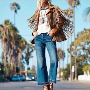 Free people chelsea cropped cropped Flare Jeans 27